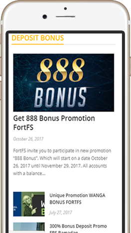 Sample Bonus Forex