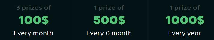 Atirox Lucky Draw Prize