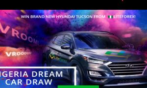 LiteForex Hyundai Tuscon Car Draw