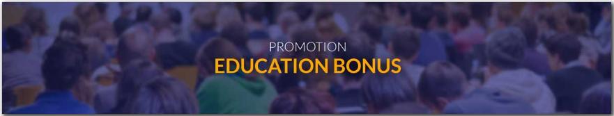 FxReino Education Bonuses