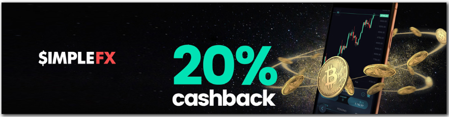SimpleFX Cashback